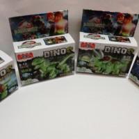 Mainan Brick Lego Dinosaurus Jurassic World YG 77010 Dino 1-8 Set TOYS