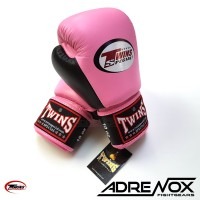 Jual Twins Boxing Glove 10 oz - Pink Black - BGVL 3T - Sarung tinju Murah