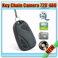Jual Spy Cam Remote Mobil + Gantungan Kunci (Slot Micro SD) Murah