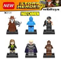 Jual lego brick minifigures superhero watchmen XINH X 0131 super hero Murah