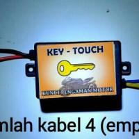 Alarm Motor Pengaman Motor Kunci Rahasia SATU Sensor Sentuh Key Touch