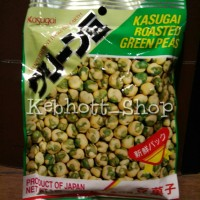 KASUGAI Roasted Green Peas 81gr kacang polong berlapis tepung 81 gr