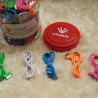 Kabel Vivan Candy Iphone4 / Apple 4