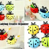 Ladybug Tooth Brush / Tempat Sikat Gigi Kumbang