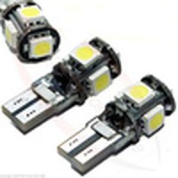 Lampu Senja T10 5 Led Strobo Blitz Superwhite Stock Terbatas Cuci G