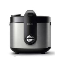 Philips HD3128 Magic Com - Stainless - Hitam