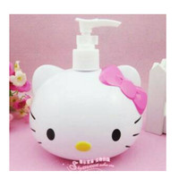 Tempat Sabun Cair Dispenser Sabun Cair Motif Kepala Hello Kitty KHM058