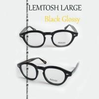 Kacamata Baca Mos*Cot Lemtosh Large Black Glossy Frame Bisa Minus Plus