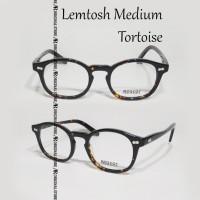 Kacamata Baca Mos*Cot Lemtosh Medium Tortoise Glossy Frame Minus Plus