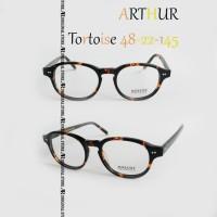 Kacamata Baca Mos*Cot Lemtosh Arthur Tortoise Glossy Frame Minus Plus