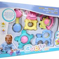 Jual MAINAN ANAK BAYI BABY TOYS - RATTLE PLAYSET KRINCINGAN GIGITAN TEETHER Murah