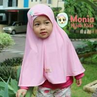 Jilbab / Hijab Anak Terlaris / Jilbab Instan Anak Size M ( 3-5 Thn )
