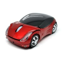 Mouse Unik Mobil / Wireless Car Style Optical Mouse 2.4GHz