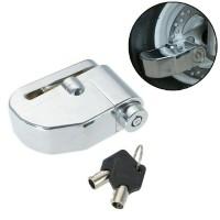 Kunci Gembok Disk Cakram Piringan Dengan Alarm Pengaman Motor