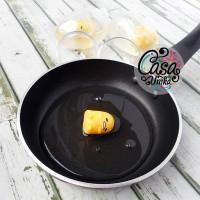 Gudetama Egg Clear Slime Telur Transparan