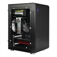 Jonsbo U3 Window Black Micro ATX Case | Aluminium Computer PC Casing