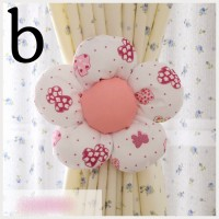 holder pengikat gorden gordyn gordin curtain bunga flower isi 2 B