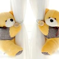 holder pengikat gorden gordyn gordin curtain teddy bear isi 2 B