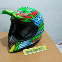 harga Helm Cross Jpx Cross Seven Days For Win Green Fluo Tokopedia.com