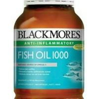 Jual Omega Minyak ikan Fish Oil Blackmores 400 Kapsul Murah