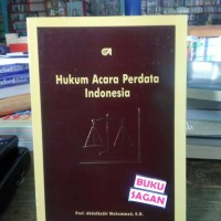 Buku Hukum Acara Perdata Indonesia Abdulkadir Muhammad Yi