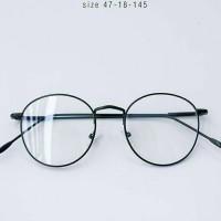 Jual kacamata frame korea bulat free lensa Murah