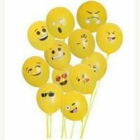 Balon Emotions/ Balon Latex Emot/ Balon Birthday 12Inch by BosBalloon