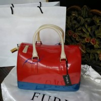 Tas Furla Candy 3 Tone Red Vil
