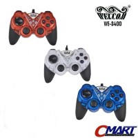 Welcom Stick Gamepad USB PC Joystick Joystik Controller - WLC-WE-8400S
