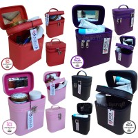 Tas Kosmetik / Tempat Makeup / Beauty Case / Box Make Up Full Color