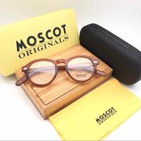 Kacamata Moscot Miltzen Premium Blonde Size Medium
