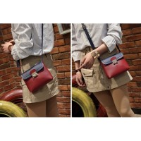 Tas Sling Bag Maroon Red Fashion Wanita Modis Murah Fashion Cantik