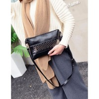 Tas Black Selempang Shoulder Import Fashion pergi Mall