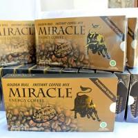 Kopi Miracle Cap Banteng Murah Golden Bull Energy Coffee Ginseng