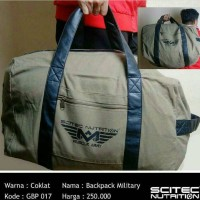 Backpack Gym Bag Military Scitec Nutrition