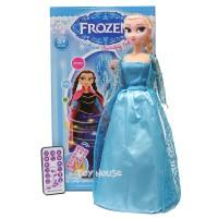 Mainan Anak RC Dancing Frozen Elsa Ukuran Sedang