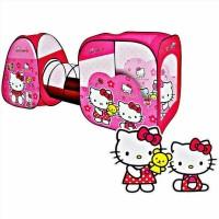 Mainan Anak Perempuan Tenda Terowongan Hello Kitty