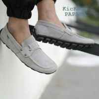 Kickers Papara Casual Slip On Suede Abu 39-43