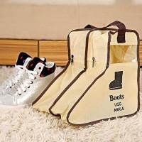 Boots Cover Dust Bag Cover Tas Penyimpanan Sepatu Storage
