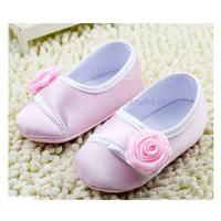 Sweet Flower Pink Prewalker Shoes / Sepatu Anak Lucu / Sepatu Import