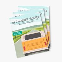 My Ramadhan Journey Mutabaah Notebook