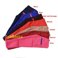 Size S (1-2 Tahun) Celana Leging Anak Jeging Anak Polos Bahan Denim