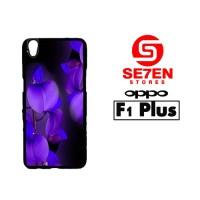 Casing HP Oppo F1 Plus (R9) Colorful flower Custom Hardcase Cover