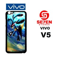 Casing HP VIVO V5 Check Wallpaper Abyss 5 Custom Hardcase Cover