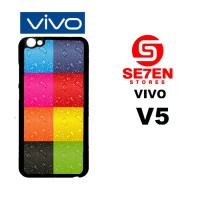 Casing HP VIVO V5 colorfull iphone Custom Hardcase Cover