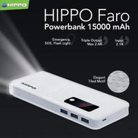 Jual Hippo Power Bank Faro 15000 MAH / 15000mah / 15.000 mah / powerbank Murah