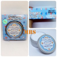 UNDERARM CUPCAKE CREAM BY LITTLE BABBY ORIGINAL