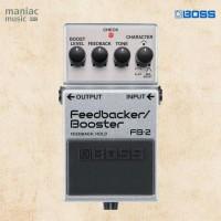 Boss FB-2 (Feedbacker, Booster, Clean, Powerful, Efek Stompbox Gitar)