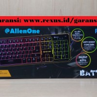 Harga Rexus K9 Fortress Backlit Floating Keys Gaming Keyboard   RX K9 | WIKIPRICE INDONESIA