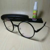 Jual kacamata bulat lentur ringan elastis gratis lensa Murah